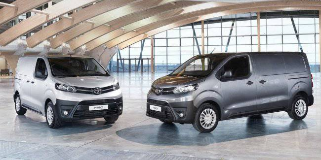Toyota will start selling electric versions of the Proace Proace City and
