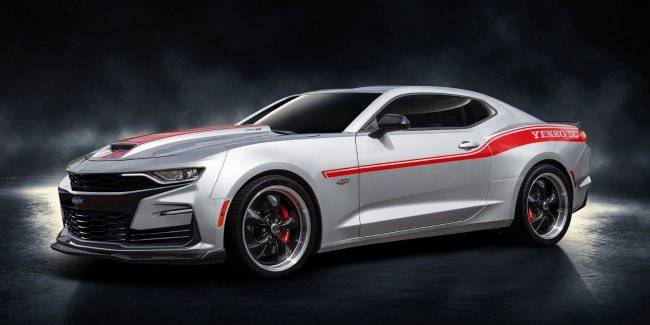 Chevrolet Camaro received a 1000-horsepower engine