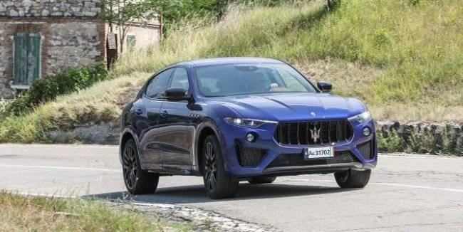The most powerful crossover Maserati Levante arrives in Europe