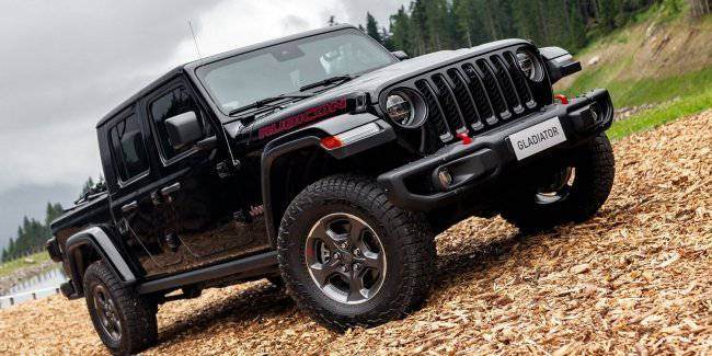 Jeep launches the European market a new cubic pickup