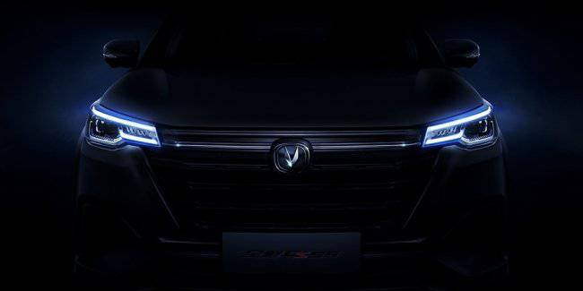 Changan CS55 will be released before the end of the year: the first teaser