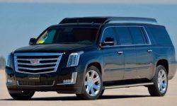 The extended version of the Cadillac Escalade SUV for sale