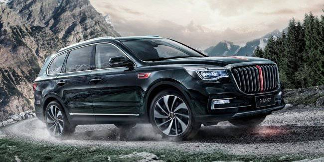 Chinese luxury crossover with a turbo V6: half the price of BMW X5