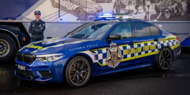 BMW M5 becomes the fastest police car in Australia