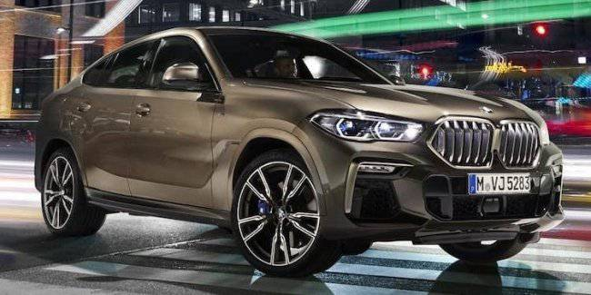 The new BMW X6 declassified before the official premiere
