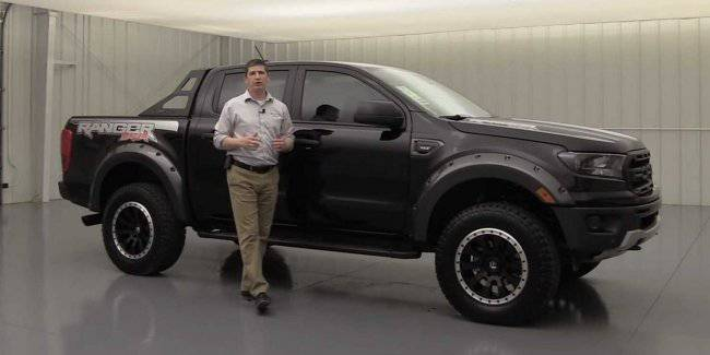 Dealer Ford introduced the off-road version of the Ranger pickup truck in the style of Raptor