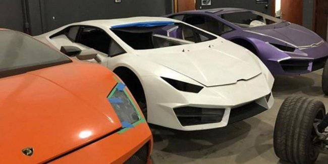 In Brazil have discovered a factory for assembling fake luxury cars