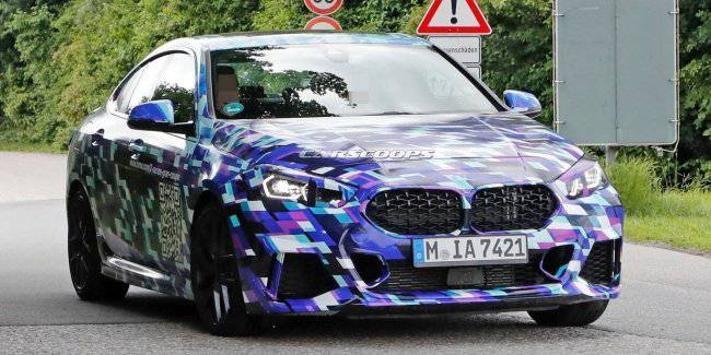 Seen a prototype of the BMW 2 Series Gran Coupe 2020