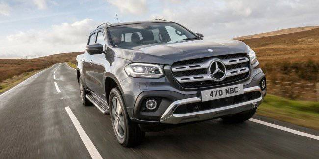 Pickup Mercedes-Benz X-class can shoot production