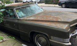 "Vintage ""Caddy"" forgot in the Parking lot for 25 years"