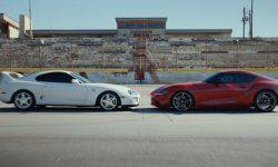 Toyota released a promotional video for the new generation coupe Supra