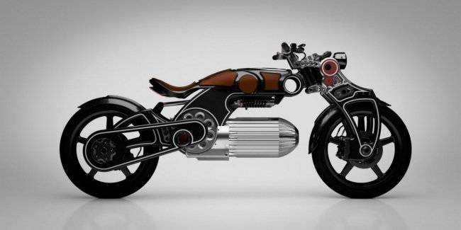 Motorcycle Hades from Curtiss and one legendary designer
