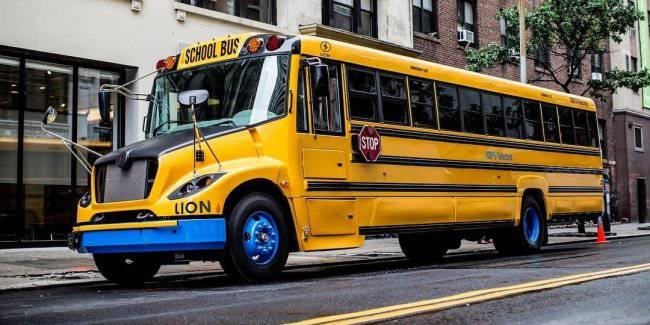 The United States is actively replace the famous yellow school buses on the buses