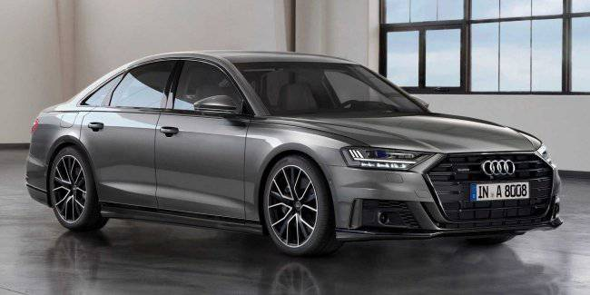Audi has equipped the A8 smart suspension