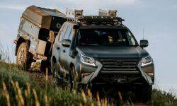 Lexus has introduced the concept of the Lexus GX off-road