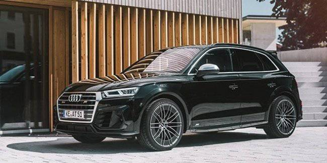 ABT presented his version of the Audi SQ5 TDI