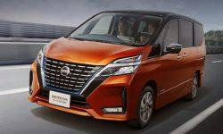 Shows the updated MPV Nissan Serena