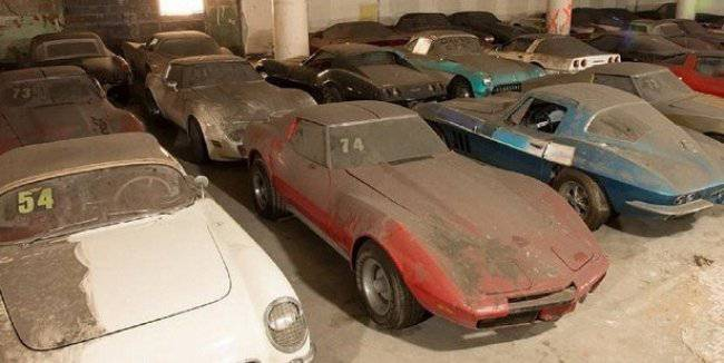 """Collection of 36 """"Corvettes"""" will play the lottery"""