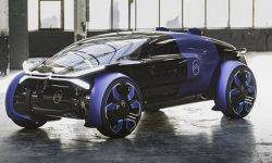 Citroen presented the concept 19_19 with futuristic wheels