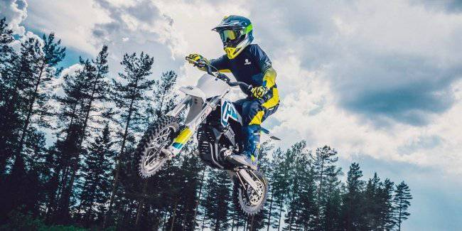 Husqvarna has released the first motorcycle