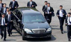 It became known as the Maybach and Pullman limousines were in North Korea