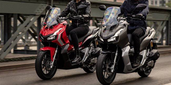 Honda introduced a new scooter in Indonesia