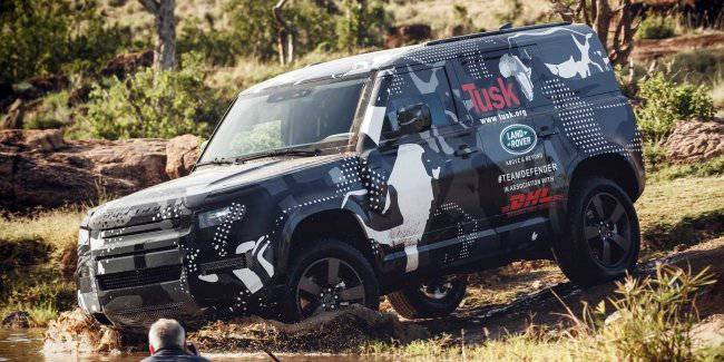 New Land Rover Defender: 8-seater version and a lot of different motors