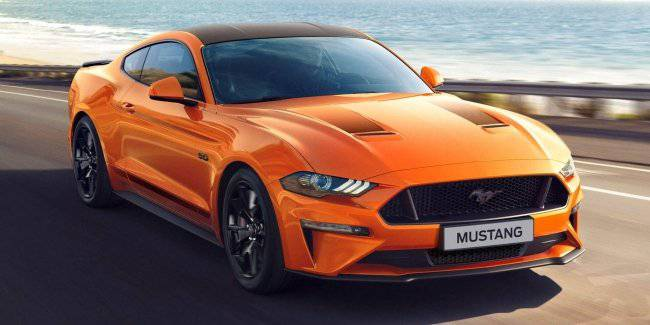 Ford has created a special version Mustang55 for Europe