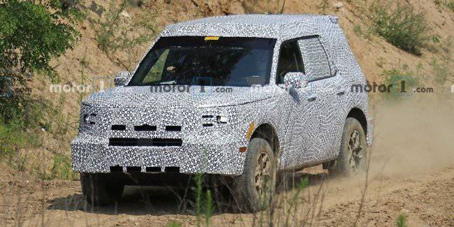 Ford began testing its new crossover