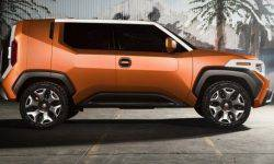 Published information on new crossover Toyota FT-4X