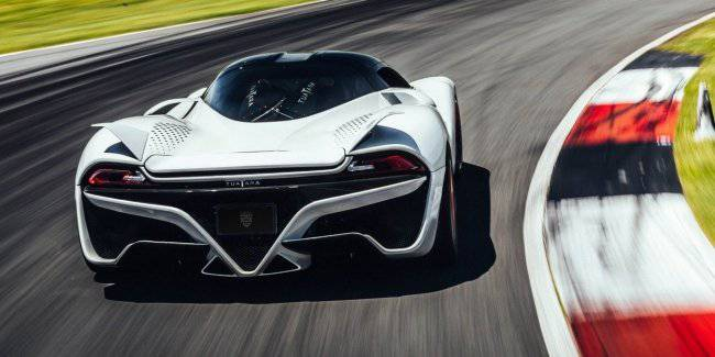 The fastest hypercar in the world willing to appear in public