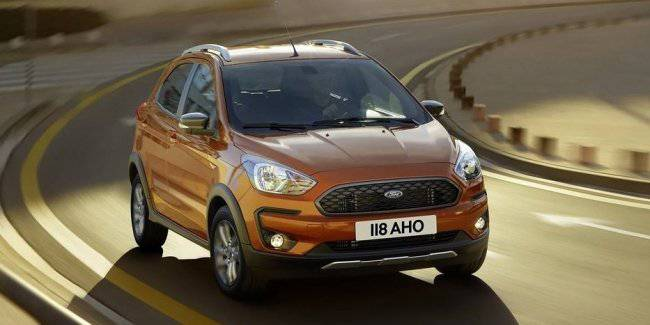 Little Ford Ka+ will be closed on the way to Europe