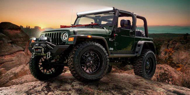 Students made tuning Jeep Wrangler