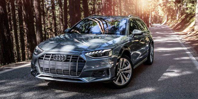 Audi introduced a redesigned A4 Allroad
