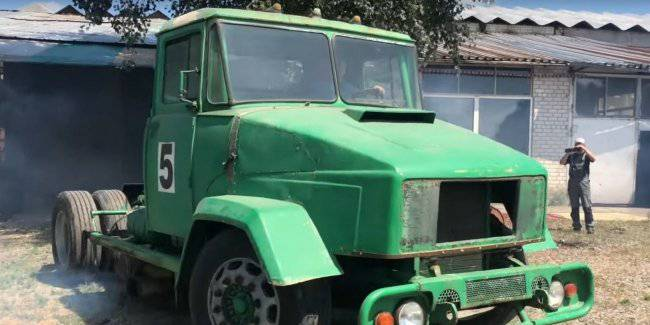 Unique ring KrAZ started after a 30-year Parking