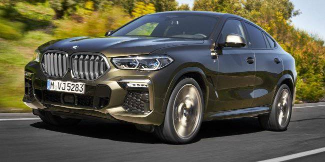 The BMW X6 is the third generation will get a 4.4-liter V8 engine to 530 HP