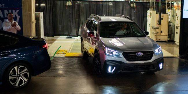Subaru launched the mass production of models of Legacy and Outback 2020