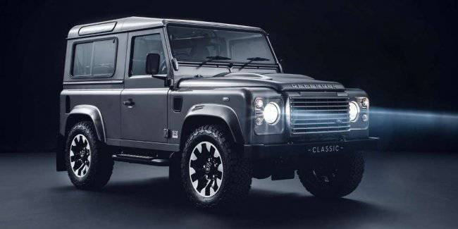 Land Rover has prepared a package of improvements for the old Defender