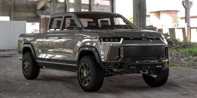 New electric pickup Atlis XT showed in the video