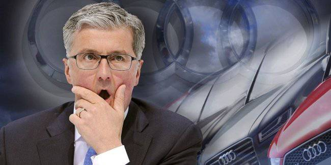 The former head of the Audi was charged with fraud
