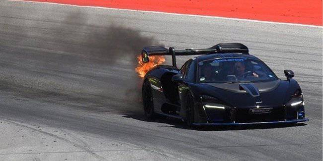 Star pilot of Formula 1 almost burned unique supercar McLaren