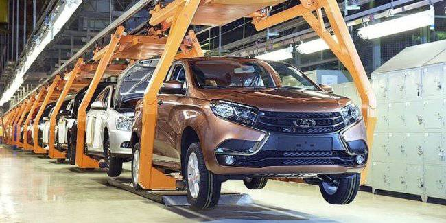 AvtoVAZ stopped the production of cars