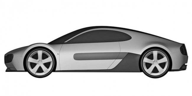 Honda patented an electric sports car