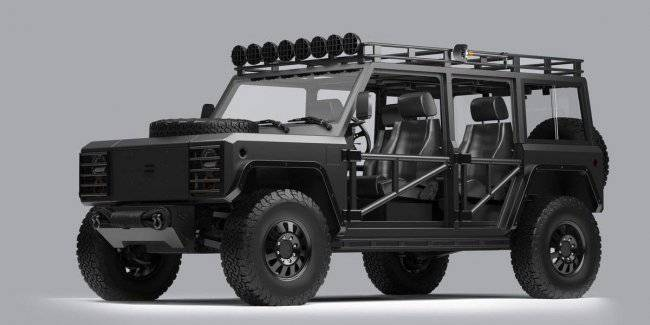 Fans of SUVs Bollinger came up with new modifications