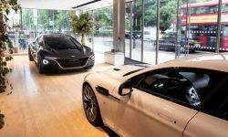 Aston Martin has revealed in London two concepts