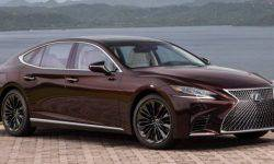 """The Lexus LS appeared """"collectible"""" version"""