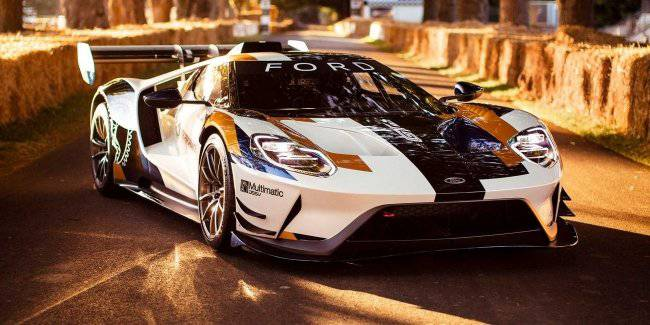 Ford made the 700-horsepower supercar GT Mk II