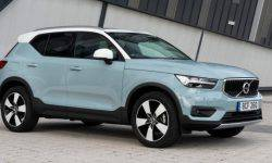 The new Volvo XC40: expanded list of options and three new exterior colors