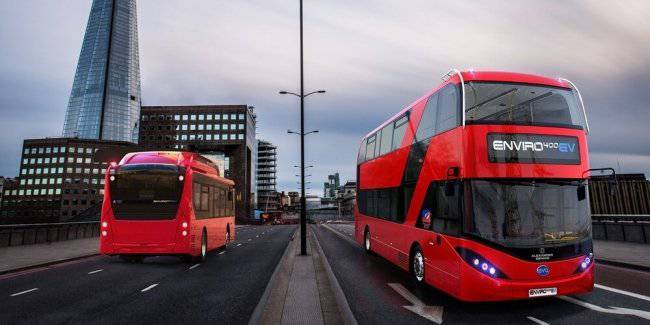 In London went to the route of the first 5 electric double-Decker buses BYD