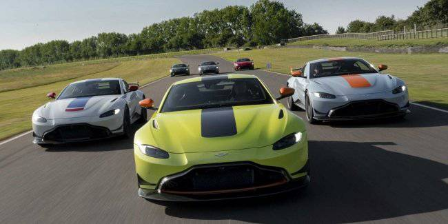Aston Martin has dedicated to his racing history the special version of the Vantage